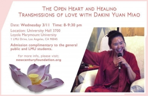 The Open Heart and Healing with Dakini Yuan Miao
